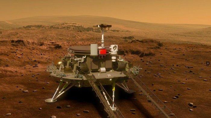 Tianwen-1, pesawat ruang angkasa milik China yang dijadwalkan mendarat di Planet Mars pada Februari 2021.