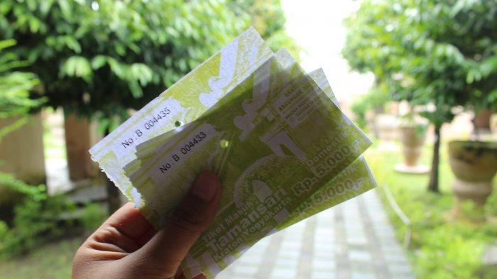 Tiket Masuk Taman Sari