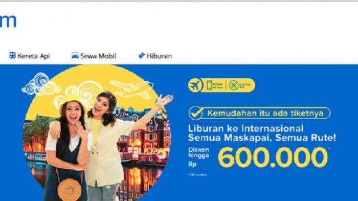 Promo Tiket Pesawat Internasional April 2019, Dapatkan Diskon hingga Rp 600 Ribu di Tiket.com