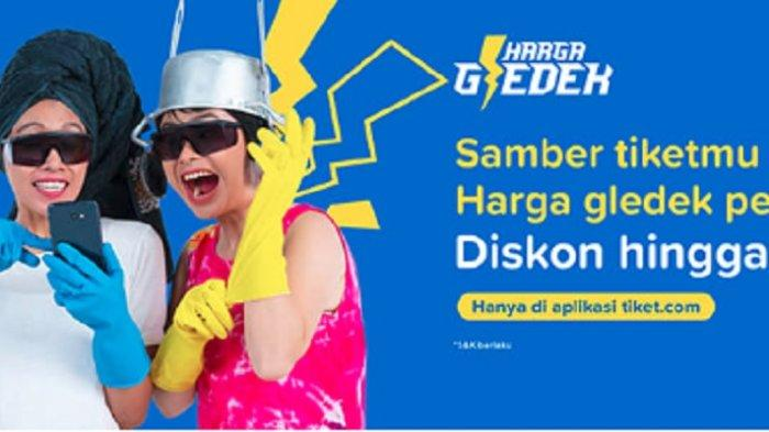 Promo Tiket.com Maret 2019, 'Harga Gledek' Tiket Pesawat Diskon hingga 50%