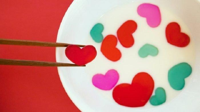 Pernyataan cinta dengan sumpit ala Tiongkok