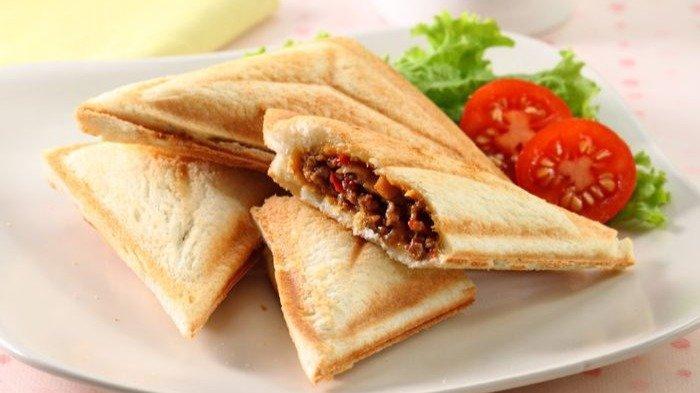 Resep Toast Bread Praktis untuk Menu Sarapan, Pakai Isian Daging Cincang Biar Lebih Nikmat