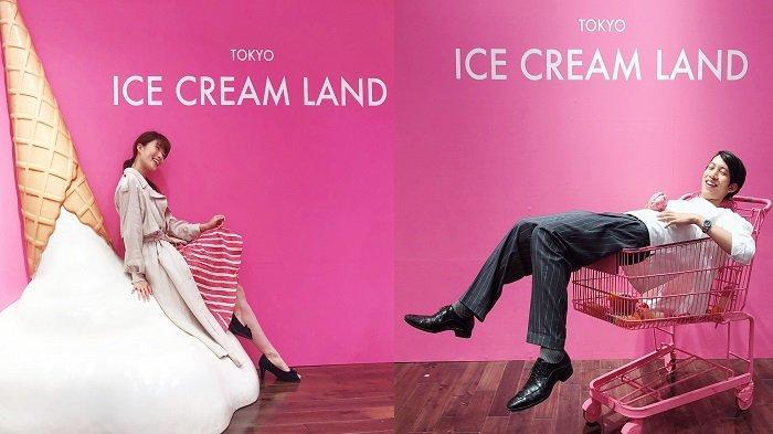 Ice Cream Land Spot Instagramable di Jepang Selain Harajuku Street, Yakin Bikin Nggak Mau Pulang