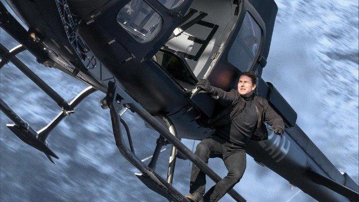 Helikopter Tom Cruise Mendarat di Lahan Warga saat Syuting Mission: Impossible 7
