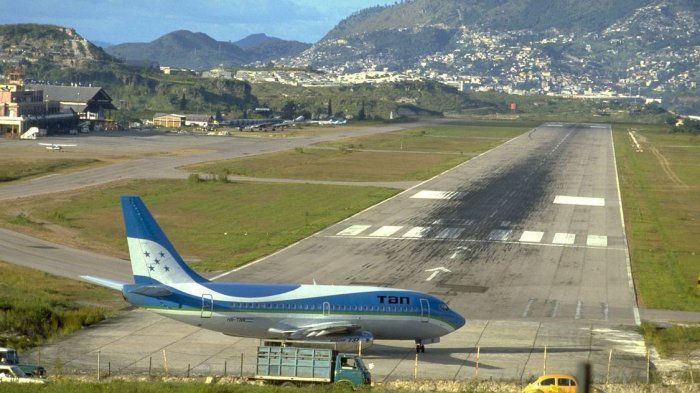 Bandara Internasional Toncontin, Satu Bandara Kebangaan Honduras yang  Ditakuti Banyak Pilot - Tribun Travel