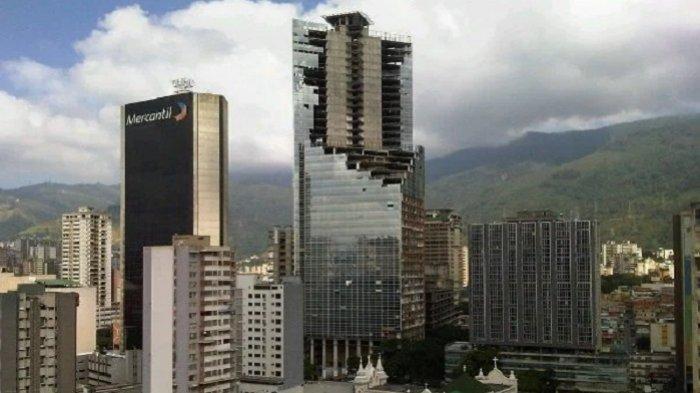 Fakta Unik Torre de David, Perkampungan Kumuh Tertinggi di Dunia di Tengah Kompleks Perkantoran