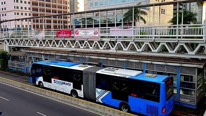 Informasi Layanan Operasional Bus TransJakarta Mulai 4 April 2020