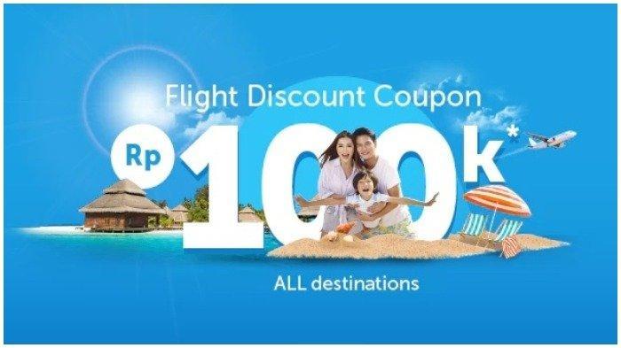 Masih Ada Promo Tiket Pesawat hingga Rp 100 Ribu di Traveloka, Lihat Kode Kuponnya