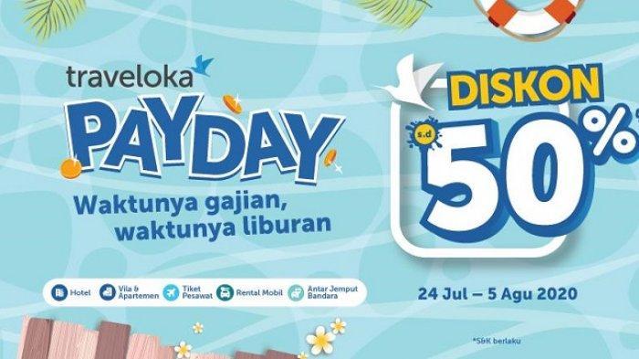 Promo Traveloka Payday Nikmati Diskon Tiket Pesawat Dan Hotel Hingga Rp 250 000 Tribun Travel