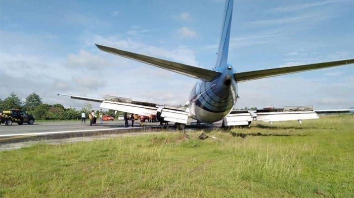 TRAVEL UPDATE: Permudah Evakuasi, Pesawat Kargo Trigana Air Dipotong 3 Bagian