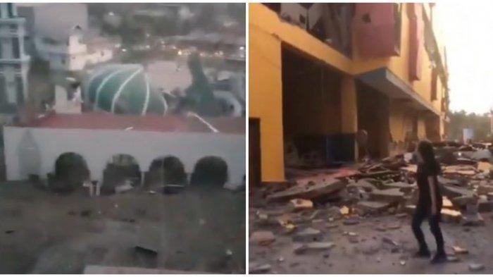 Video Tsunami Palu Usai Gempa 7,7 SR - Rumah dan Bangunan Tersapu Gelombang Tinggi