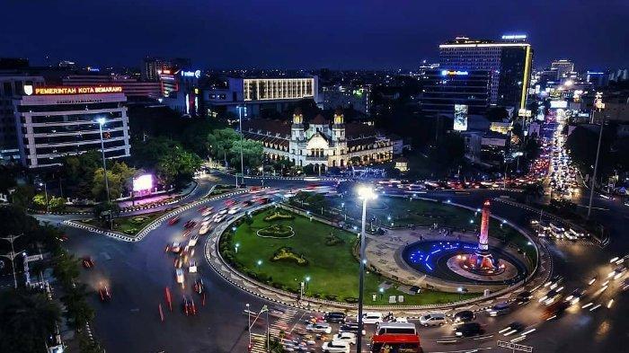 Ilustrasi Simpang Lima, cocok untuk lokasi ngabuburit saat Bulan Ramadan 2019