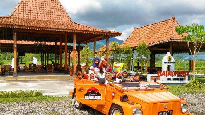 8 Pilihan Transportasi Lokal di Magelang, Rasakan Sensasi Naik Mobil Klasik Keliling Pedesaan
