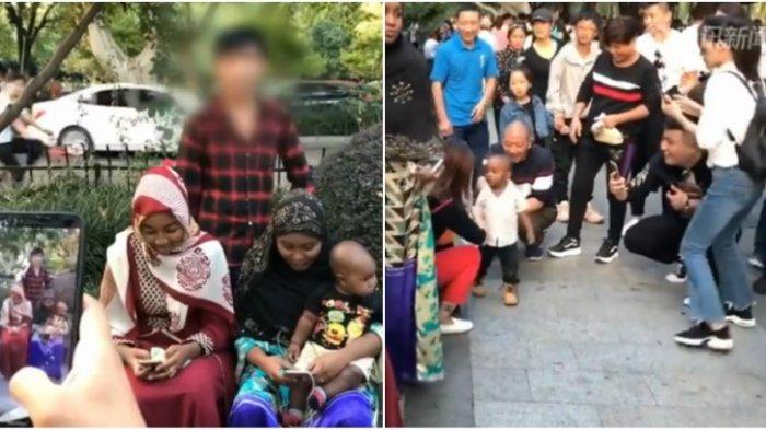 Kunjungi China, Keluarga Turis Ini Malah Bikin Wisatawan Lokal Minta Foto