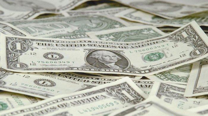 Ilustrasi Uang 1 dolar AS