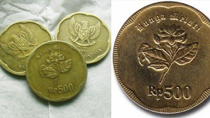 Benarkah Uang Logam  Rupiah Tahun  Bahan Bakunya Mengandung Emas