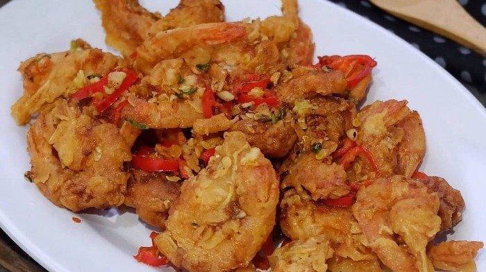Resep Udang Cabe Garam, Hidangan Praktis untuk Menu Makan Malam