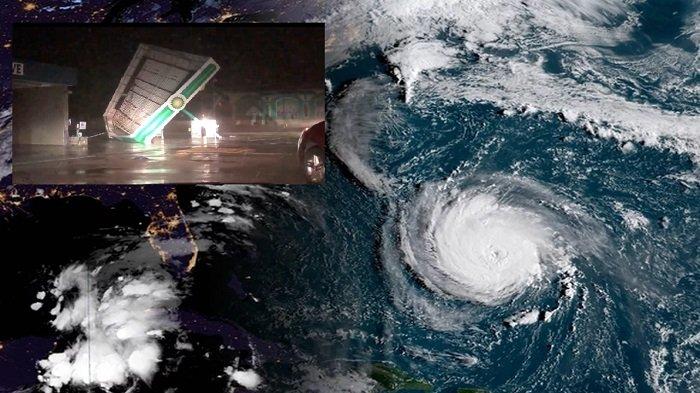 Update Terbaru Badai Florence Terjang AS: Warga Harus Waspada Hujan Deras dan Banjir