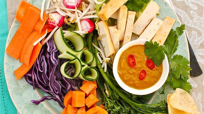 Ilustrasi kuliner Vegetarian