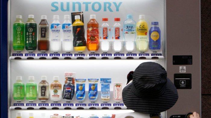 Vending Machine atau mesin penjual otomatis