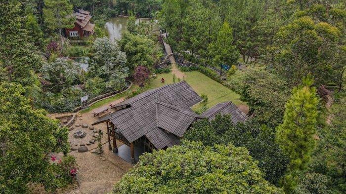 Vila di Taman Wisata Bougenville