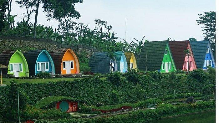 Tipe villa di Nirvana Valley Resort Bogor.