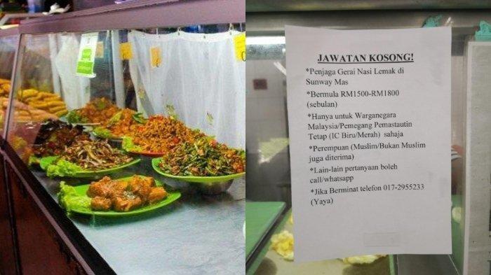 Viral Di Medsos Lowongan Jaga Warung Makan Digaji Seperti Pekerja Start Up Banyak Pelamar Mundur Tribun Travel