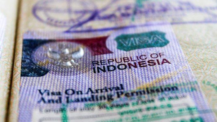 Ilustrasi visa on arrival Indonesia