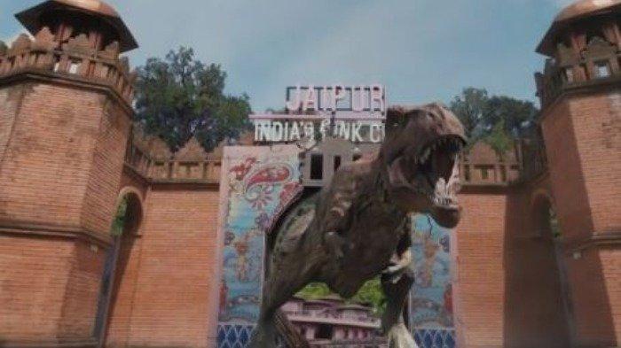 Liburan Antimainstream, Cobain Sensasi Menyuapi Dinosaurus di The Great Asia Africa Lembang