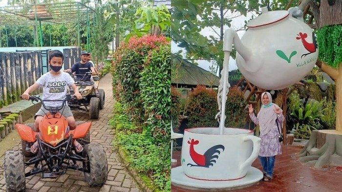 Harga Tiket Masuk Villa Kancil Kampoeng Soenda Terbaru 2021, Wisata Keluarga Populer di Bandung