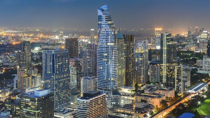 Ilustrasi Bangkok, Thailand.