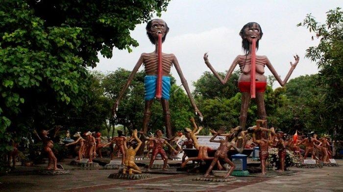 5 Kuil di Thailand Ini Beri Gambaran Tentang Neraka Melalui Patung-patung Mengerikan