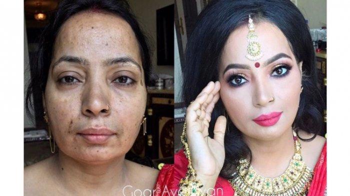 Tak Harus Oplas! 10 Wanita dari Berbagai Negara Ini Jadi Cantik Cukup dengan Kekuatan Make Up