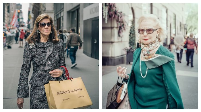Potret Para Wanita Lanjut Usia di 'Kota Fashion' Milan, Tetap Stylish Meski Kulit Sudah Keriput