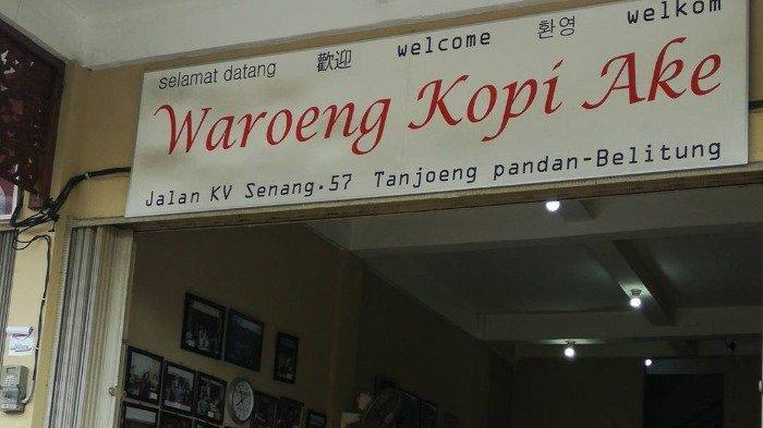 Seruput Hangatnya Kopi Klasik di 4 Kedai Kopi Legendaris Belitung, Ada yang Berusia 99 Tahun