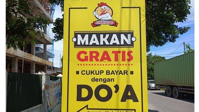 Warung Makan di Padang Ini Berikan Makan Gratis Dibayar dengan Doa, Ini Syaratnya