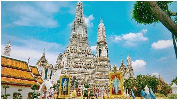 Menilik Wat Arun, Kuil Tempat Kaesang Pangarep dan Gibran Rakabuming Foto Bareng