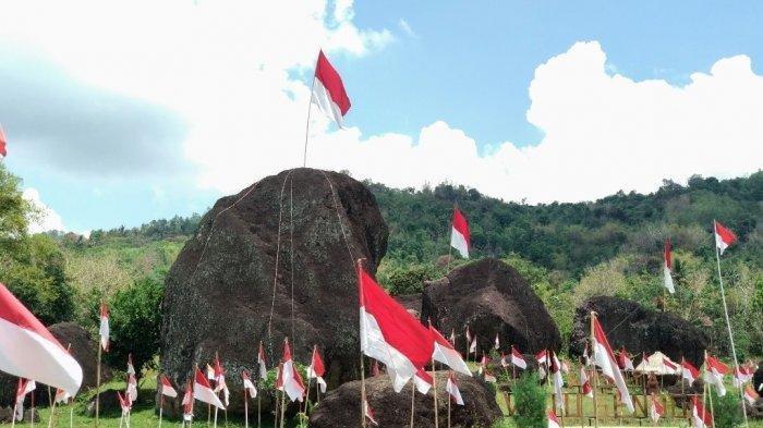 Watu Gendong, Tempat Wisata di Beji, Gunungkidul Berupa 5 Batu Raksasa yang Sakral