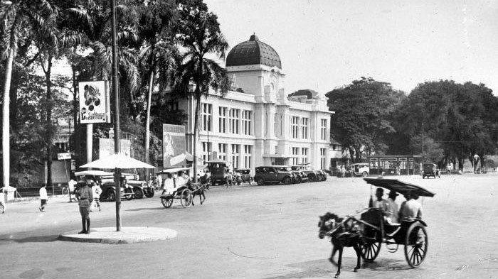 Jakarta Tempo Dulu 7 Foto Ini Akan Membawamu Melihat Susana Ibu Kota Di Masa Silam Tak Ada Macet Tribun Travel