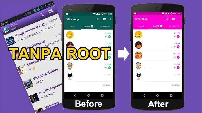 Bosen Tampilan Gitu-gitu aja? Begini Cara Mengubah Tema Whatsapp Tanpa Root, Dijamin Nggak Bosenin!