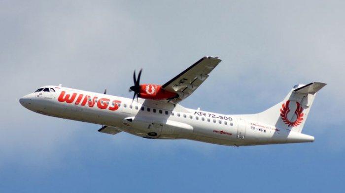Gunung Dukono Erupsi, Wings Air Batalkan Penerbangan Rute Morotai - Ternate