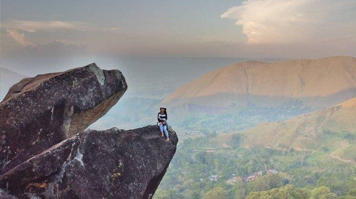 Batu Marompa, Wisata Alam di Samosir yang Terkenal dengan Mitos Kutukan pada Pasangan Kekasih
