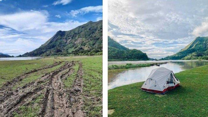 Viral Lembah Salimbongan Sulsel Rusak Akibat Kunjungan Kerja Bupati Pinrang, Camat Angkat Bicara