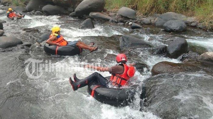 Liburan Akhir Pekan di Mojokerto, Coba Sensasi River Tubing Selo Malang