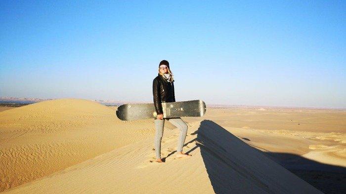 Wisatawan di Siwa Oasis