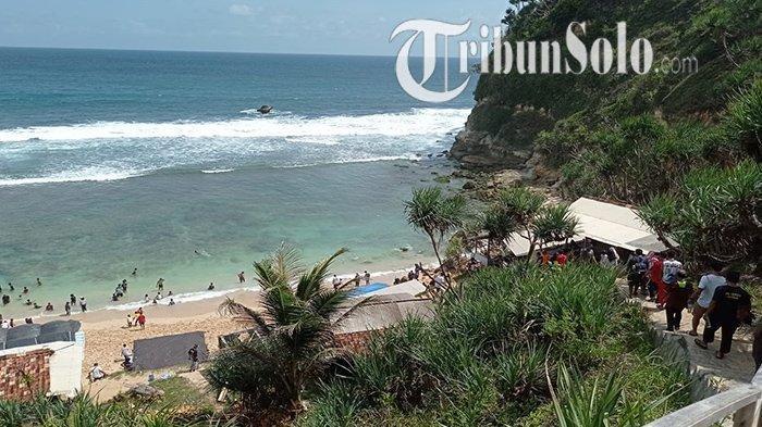 Rute Menuju Pantai Nampu, Surga Tersembunyi di Wonogiri yang Terkenal dengan Pasir Putihnya