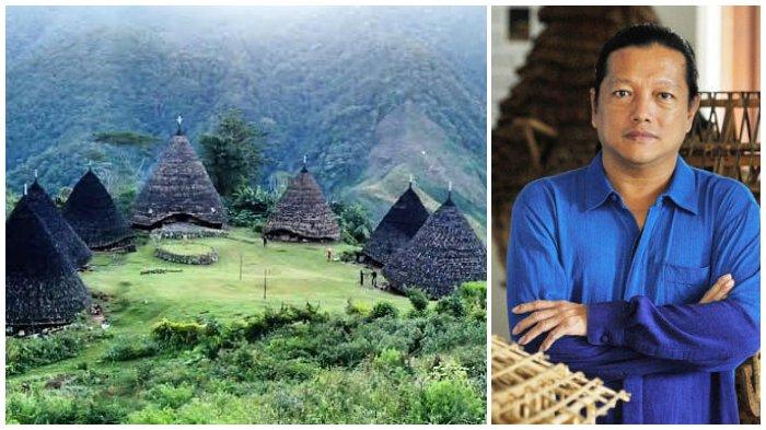 Arsitek Ternama Indonesia Bangun Kembali Rumah Adat Mbaru Niang di Desa Wae Rebo NTT