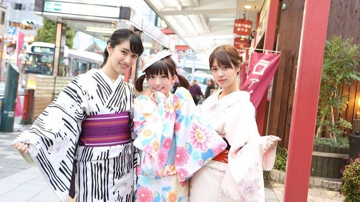 Yukata di Jepang