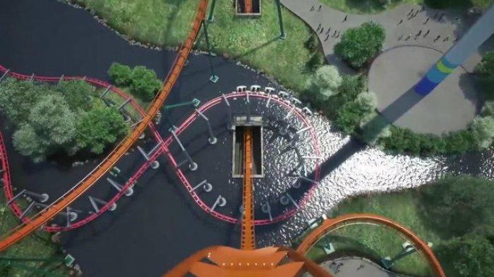 Mencoba Sensasi Menegangkan Naik Roller Coaster Tercepat di Dunia