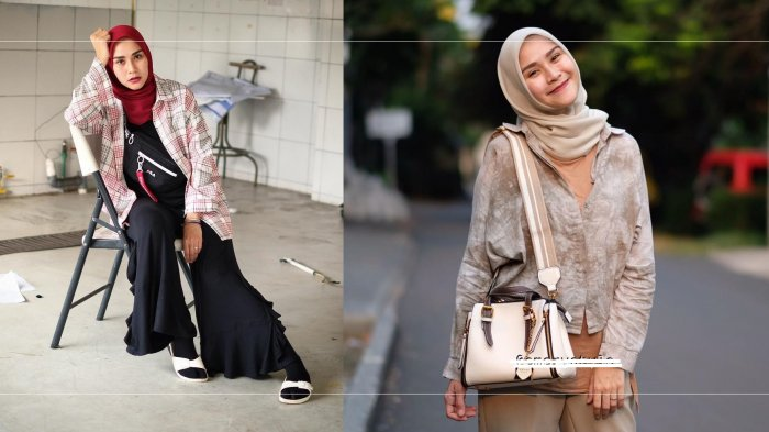 Tampil Simple dan Kasual Ala Zaskia Adya Mecca dengan Inspirasi Mix and Match Celana Palazzo
